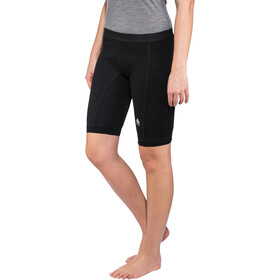 Aclima WarmWool Lange Shorts with Windstop Damen jet black